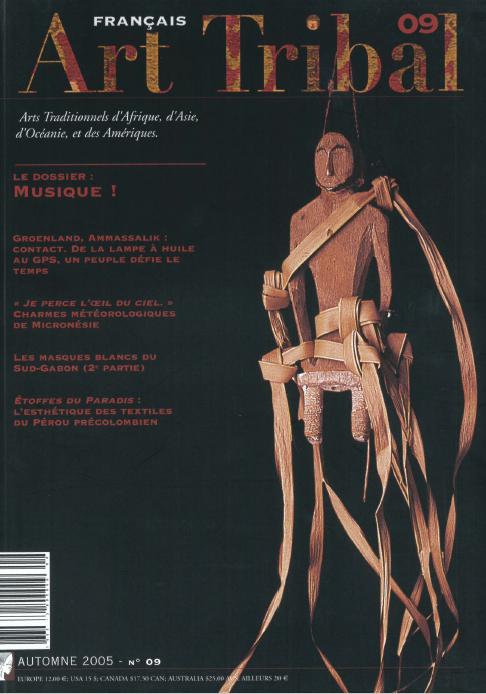 Magazine Art Tribal n°09, automne 2005 | Editions D, Frédéric Dawance