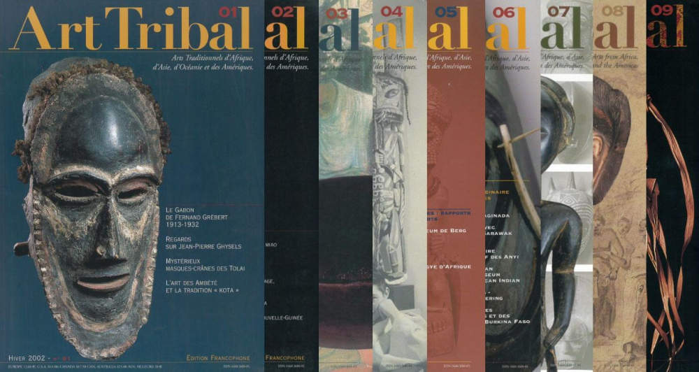 Magazines Art Tribal | Editions D, Frédéric Dawance