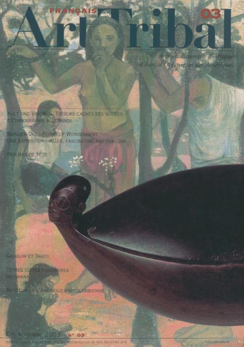 Magazine Art Tribal n°03, été-automne 2003 | Editions D, Frédéric Dawance