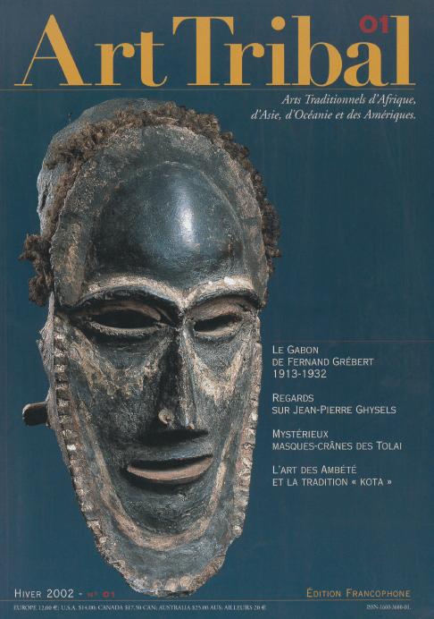 Magazine Art Tribal n°01, hiver 2002 | Editions D, Frédéric Dawance