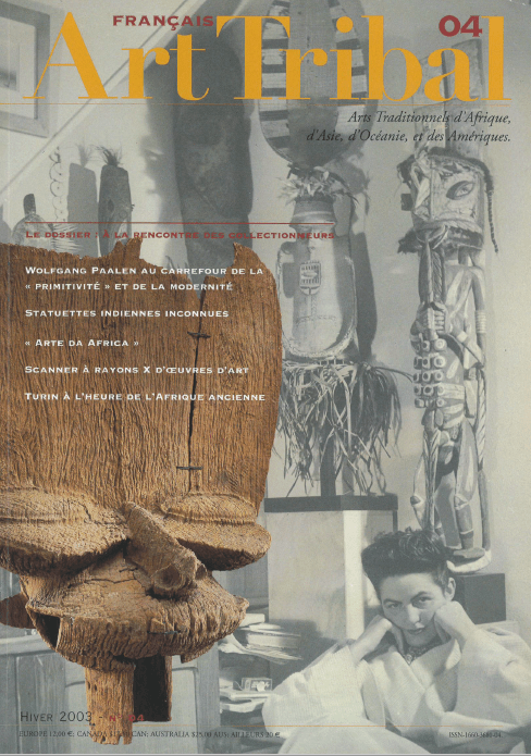 Magazine Art Tribal n°04, hiver 2003 | Editions D, Frédéric Dawance