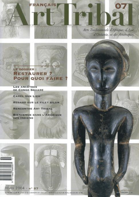 Magazine Art Tribal n°07, hiver 2004 | Editions D, Frédéric Dawance