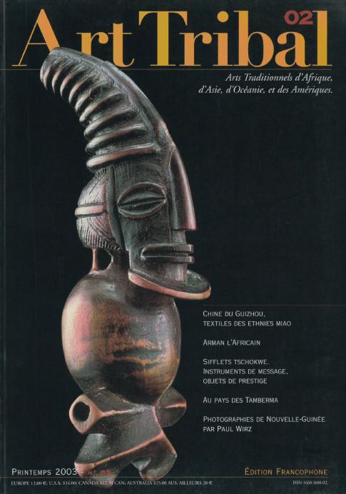 Magazine Art Tribal n°02, printemps 2003 | Editions D, Frédéric Dawance
