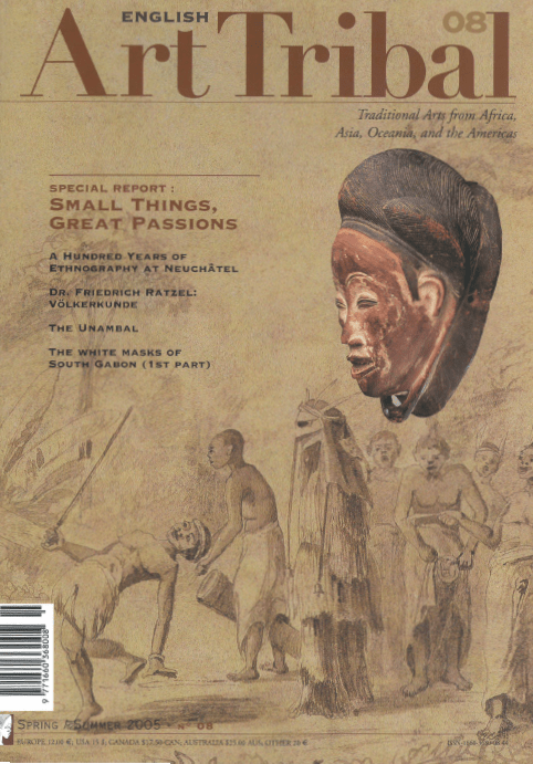 Magazine Art Tribal n°08, printemps 2005 | Editions D, Frédéric Dawance