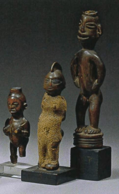 Magazine Art Tribal n°08, printemps 2005 | figurines miniatures du Congo | Editions D, Frédéric Dawance