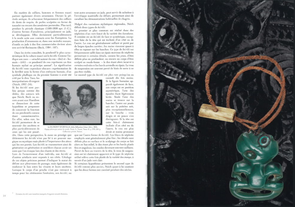 Catalogue | Bijoux Polynésiens | Hei-tiki | Editions D, Frédéric Dawance