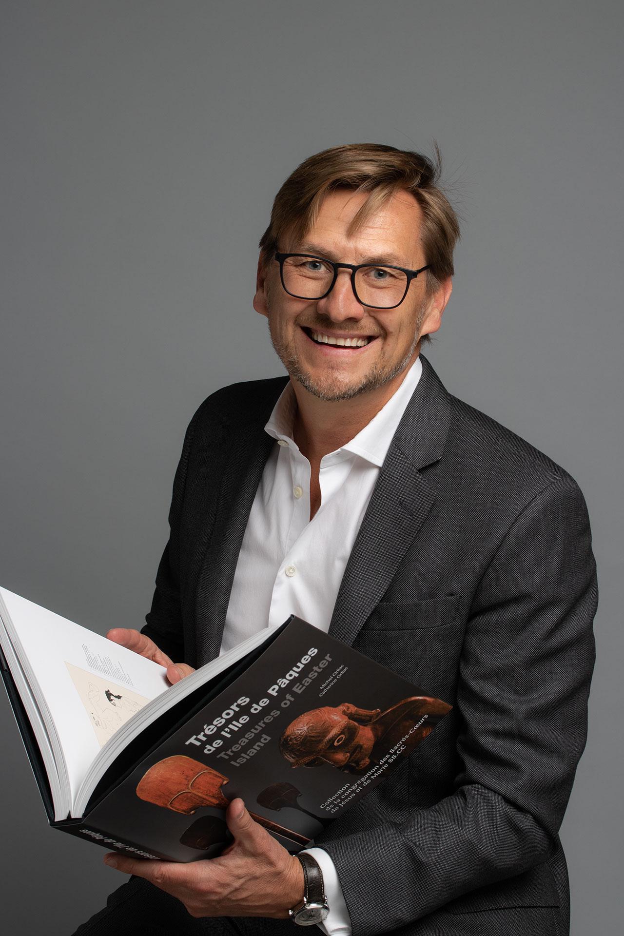 Frédéric Dawance | Fondateur Editions D | Associé-gérant du groupe de Pury Pictet Turrettini