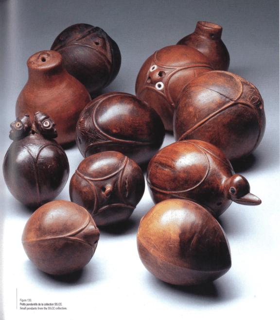 Livre | Trésors de l'île de Pâques | Pendentifs | Textes de Michel et Catherine Orliac | Editions D, Frédéric Dawance
