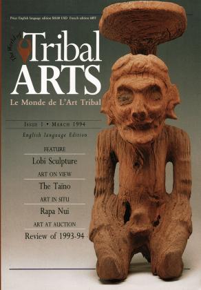 Tribal Arts | Le Monde de l'Art Tribal N°01, mars 1994 | Editions D, Frédéric Dawance