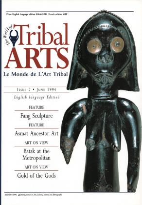 Tribal Arts | Le Monde de l'Art Tribal N°02, juin 1994 | Editions D, Frédéric Dawance