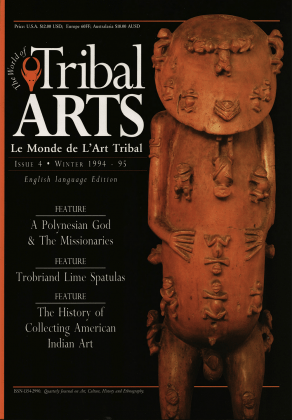 Tribal Arts | Le Monde de l'Art Tribal N°04, décembre 1994 | Editions D, Frédéric Dawance