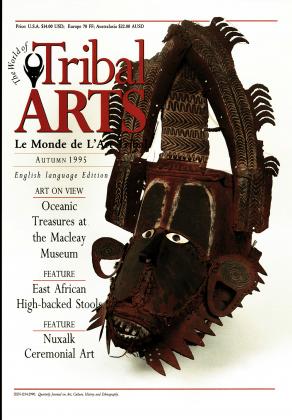 Tribal Arts | Le Monde de l'Art Tribal N°07, automne 1995 | Editions D, Frédéric Dawance
