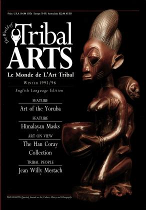 Tribal Arts | Le Monde de l'Art Tribal N°08, hiver 1995 | Editions D, Frédéric Dawance