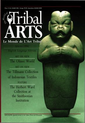 Tribal Arts | Le Monde de l'Art Tribal N°09, printemps 1996 | Editions D, Frédéric Dawance