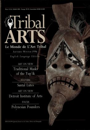 Tribal Arts | Le Monde de l'Art Tribal N°11, automne-hiver 1996 | Editions D, Frédéric Dawance