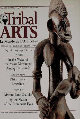 Tribal Arts | Le Monde de l'Art Tribal N°13, printemps 1997 | Editions D, Frédéric Dawance
