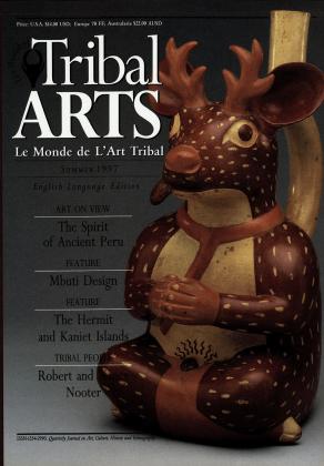 Tribal Arts | Le Monde de l'Art Tribal N°14, été 1997 | Editions D, Frédéric Dawance