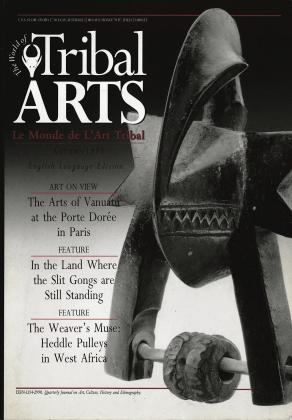 Tribal Arts | Le Monde de l'Art Tribal N°15, automne 1997 | Editions D, Frédéric Dawance