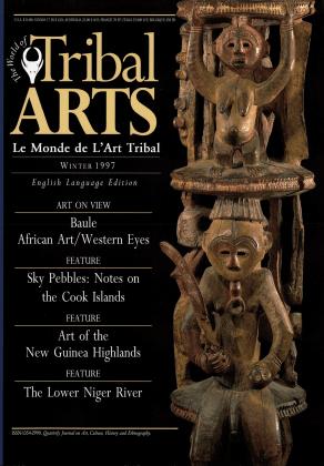 Tribal Arts | Le Monde de l'Art Tribal N°16, hiver 1997 | Editions D, Frédéric Dawance