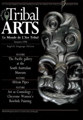 Tribal Arts | Le Monde de l'Art Tribal N°18, été 1998 | Editions D, Frédéric Dawance