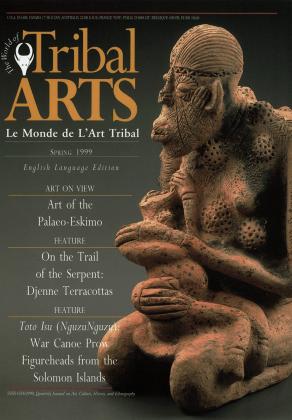 Tribal Arts | Le Monde de l'Art Tribal N°20, printemps 1999 | Editions D, Frédéric Dawance