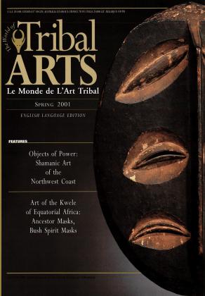 Tribal Arts | Le Monde de l'Art Tribal N°25, printemps 2001 | Editions D, Frédéric Dawance