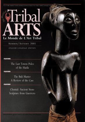 Tribal Arts | Le Monde de l'Art Tribal N°26, été-automne 2001 | Editions D, Frédéric Dawance