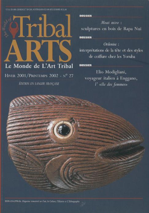 Tribal Arts | Le Monde de l'Art Tribal N°27, hiver 2001 - printemps 2002 | Editions D, Frédéric Dawance